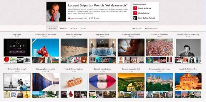 Découvrez ma page Pinterest dédiée à l'art de vivre à la française