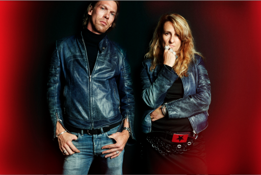 Stella Cadente et Florian Claudel luxe delporte