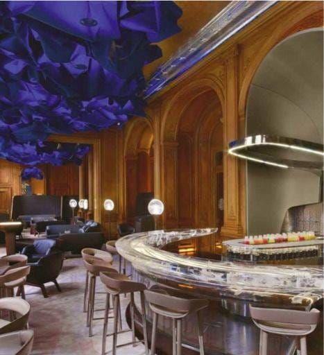 Bar Plaza Athénée LAurent Delporte