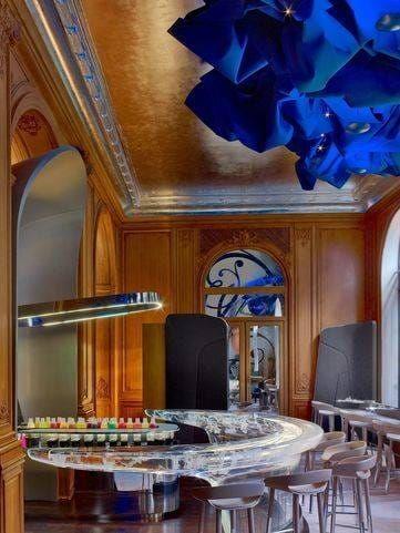 Plaza Athénée : rénovation du bar