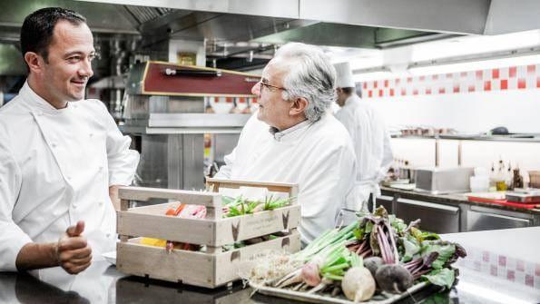 Alain Ducasse et l'art de recevoir à la française