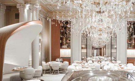Patrick Jouin et Sanjit Manku : Un restaurant réinterprété au Plaza Athénée