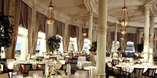 restaurant hotel du palais