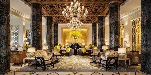 Four seasons Dubai lobby Laurent Delporte