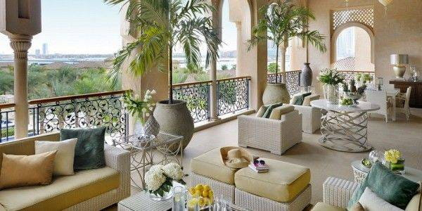 Grand Palm Suite Terrace