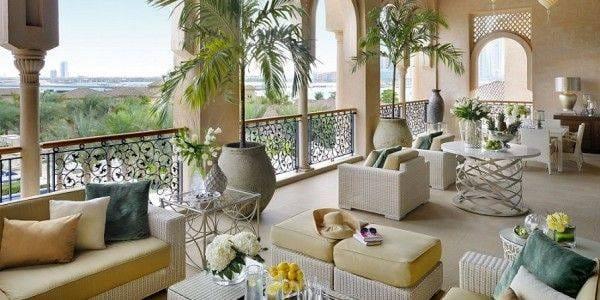 Grand Palm Suite Terrace