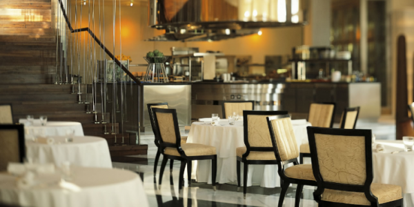 Hotel PArk Hyatt Dubai restaurant Laurent Delporte