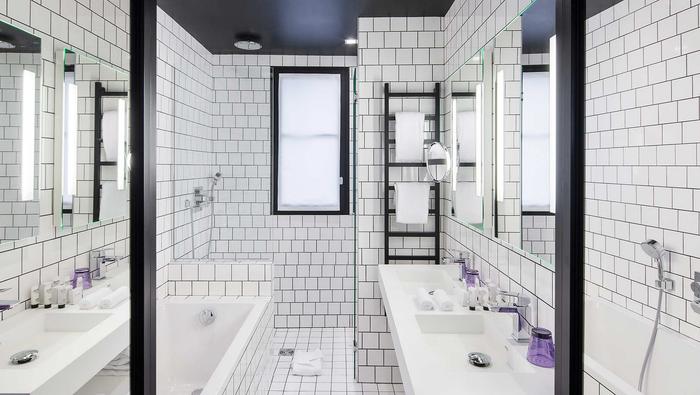 Best Western Paris Salle de bain