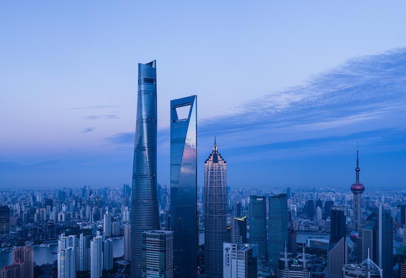 L'hôtel Park Hyatt, Shanghai